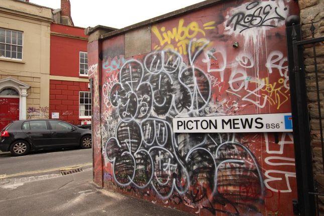 Thumbnail Flat to rent in Picton Mews, Bristol