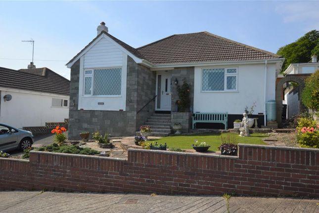 Thumbnail Detached bungalow for sale in Lea Road, Watcombe Park, Torquay, Devon