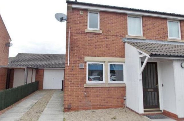 Thumbnail Semi-detached house to rent in Howard Court, Middlesbrough