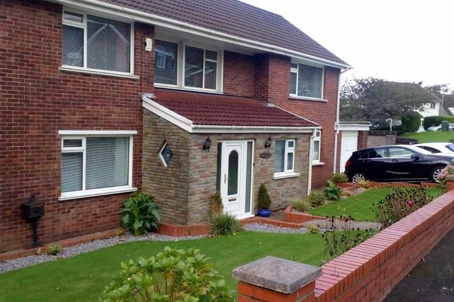Thumbnail Detached house for sale in Church View, Baglan