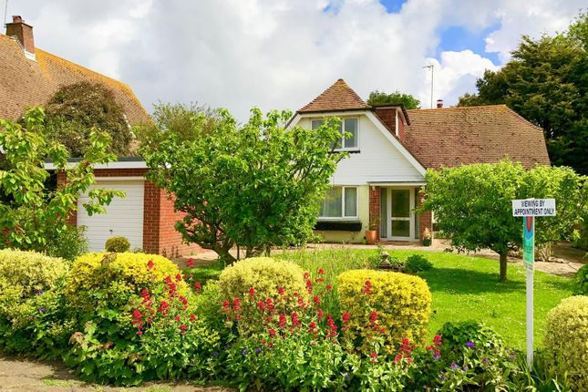 Thumbnail Detached house for sale in Lodge Avenue, Willingdon, Eastbourne