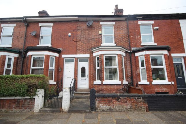 Thumbnail Terraced house to rent in Hopwood Avenue, Eccles, Manchester