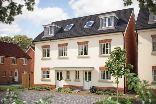 """Thumbnail Semi-detached house for sale in """"The Westerham"""" at Foxhall Road, Ipswich"""