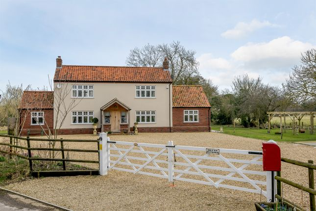 Thumbnail Detached house for sale in Crow Hill, Wood Dalling, Norwich