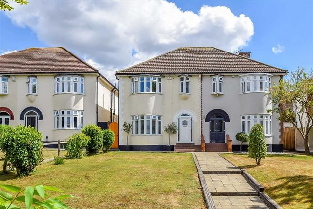 Thumbnail Semi-detached house for sale in High Road, Benfleet, Essex