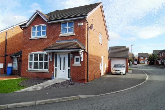 Thumbnail Detached house for sale in Spring Gardens, Rhosddu, Wrexham