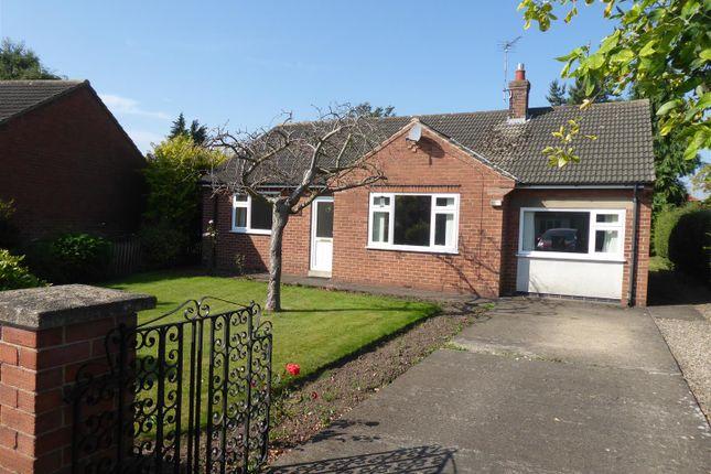 Thumbnail Detached bungalow for sale in Poplar Crescent, Romanby, Northallerton