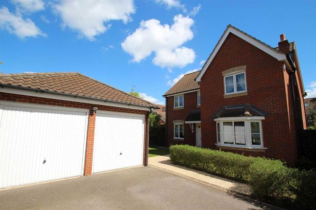 Thumbnail Detached house for sale in Castle Gardens, Grange Farm, Kesgrave, Ipswich