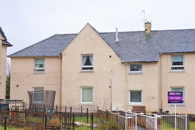 Thumbnail Flat for sale in Hillend Crescent, Clydebank