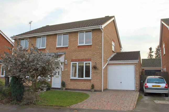 Thumbnail Semi-detached house to rent in Nightingale Way, Oakham