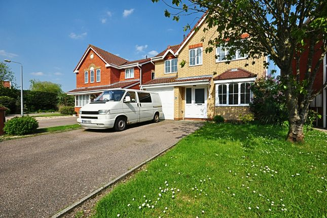 Thumbnail Detached house for sale in Scholars Walk, Diss