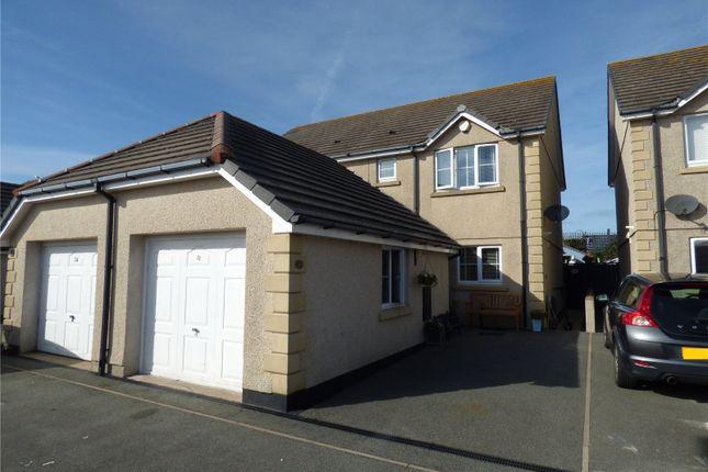 Thumbnail Semi-detached house for sale in Felin Wen, Holyhead, Sir Ynys Mon