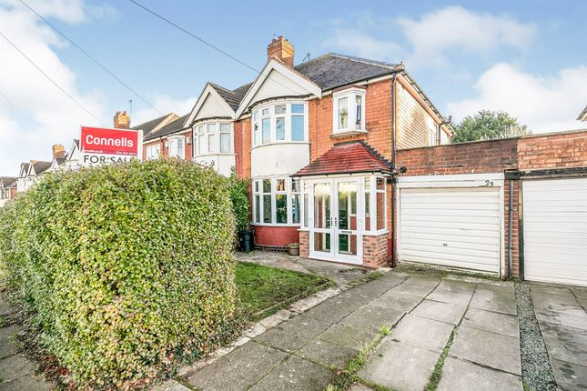 Thumbnail Semi-detached house for sale in Ebley Road, Handsworth Wood, Birmingham