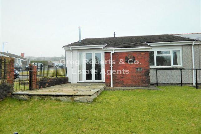 2 bed bungalow for sale in Ystrad Deri, Dukestown, Tredegar, Blaenau Gwent. NP22