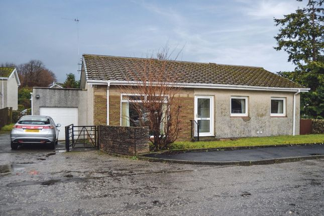Thumbnail Detached bungalow for sale in Mitchell Drive, Cardross, Dumbarton