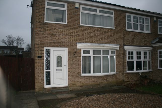 Thumbnail Semi-detached house to rent in Felixstowe Close, Hartlepool