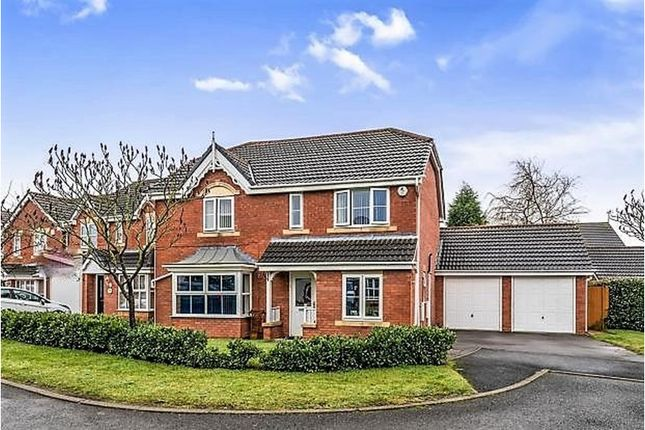 Thumbnail Detached house for sale in Turf Close, Cannock
