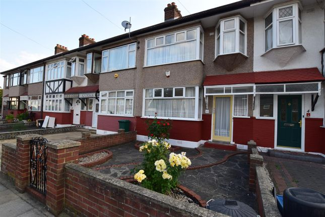 Thumbnail Terraced house for sale in Bishops Avenue, Chadwell Heath, Romford