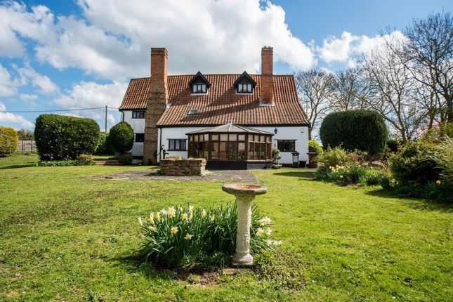 Farmhouse for sale in Ipswich Road, Dickleburgh, Diss
