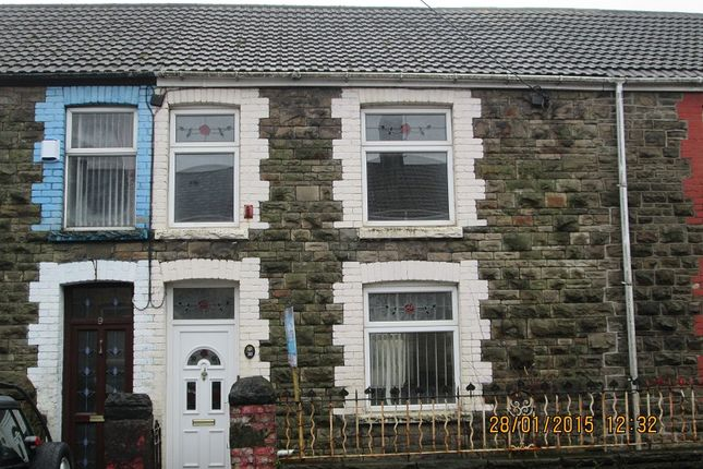 Thumbnail Terraced house to rent in Victoria Street, Caerau, Maesteg