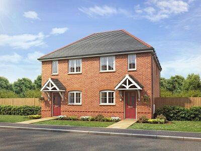 Thumbnail Semi-detached house for sale in Village Road Northop Hall, Flintshire