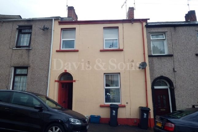 Thumbnail Terraced house to rent in Bailey Street, Newport, Newport.