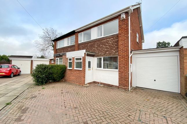 3 bed semi-detached house for sale in Hargrave Close, Water Orton, Birmingham B46