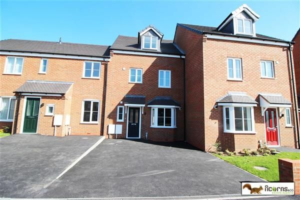 Thumbnail Terraced house for sale in Spring Lane, Pelsall, Walsall