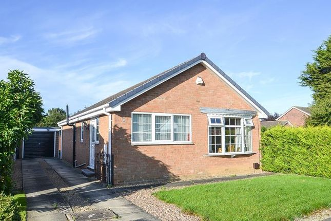 Thumbnail Detached bungalow to rent in Thatchers Croft, Copmanthorpe, York