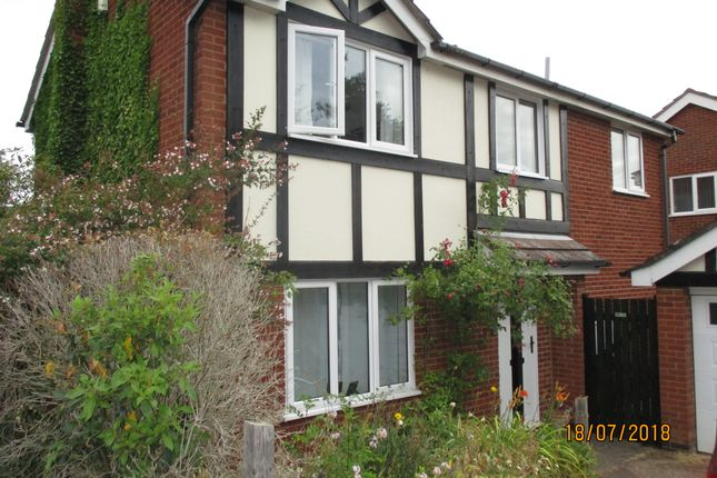 Thumbnail Detached house to rent in Camrose Close, Oakham