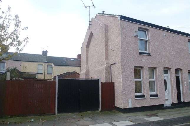 Thumbnail End terrace house for sale in Kipling Street, Bootle