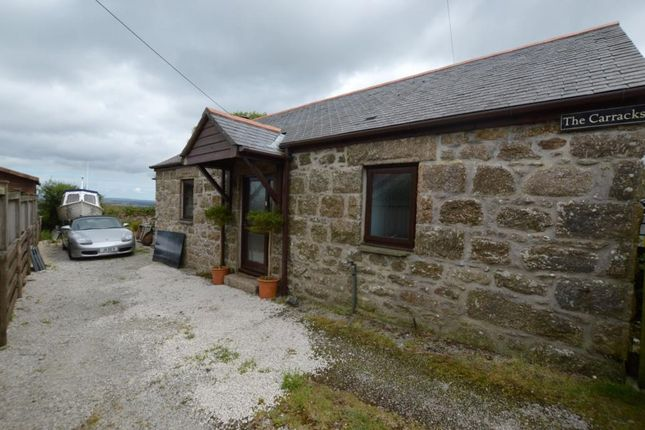 Thumbnail Detached bungalow for sale in Vorvas, Lelant, St. Ives, Cornwall