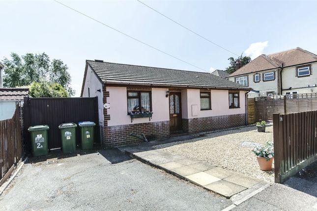 Thumbnail Detached bungalow for sale in St Aubins Avenue, Sholing, Southampton, Hampshire