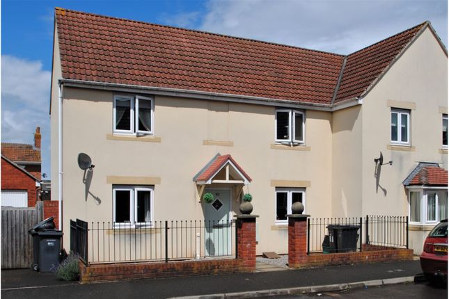 3 bed semi-detached house for sale in Marsa Way, Bridgwater TA6