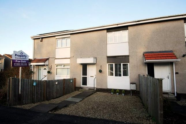 Thumbnail Terraced house for sale in Calder House Road, Mid Calder, Livingston