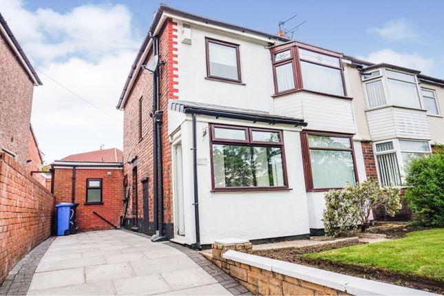 Thumbnail Semi-detached house for sale in Cumber Lane, Prescot