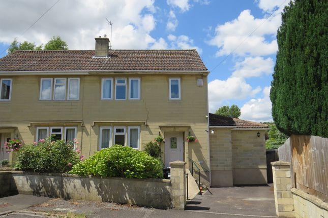 Thumbnail Semi-detached house for sale in Worcester Park, Larkhall, Bath