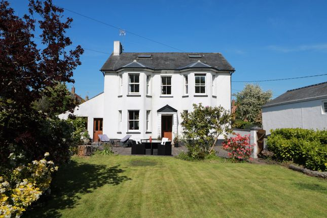 Thumbnail Detached house for sale in Caerleon Road, Ponthir, Newport