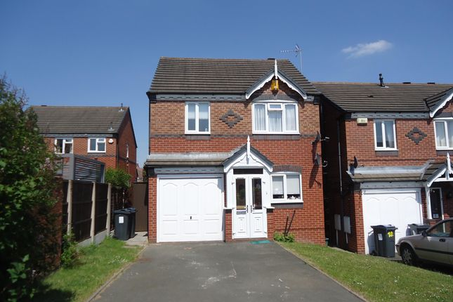 Thumbnail Detached house to rent in Harrier Road, Acocks Green, Birmingham