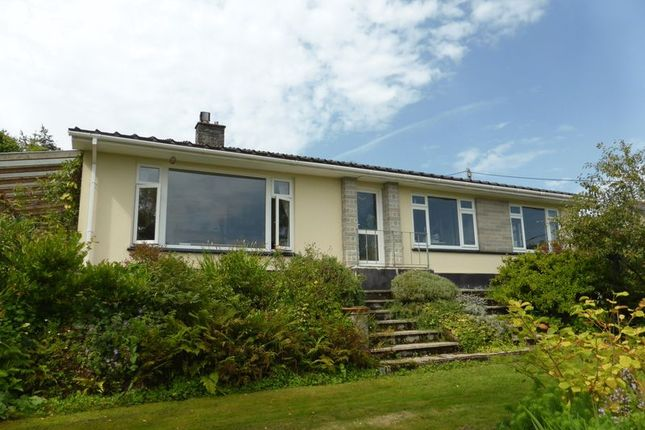 Thumbnail Detached bungalow for sale in The Uplands, Lostwithiel