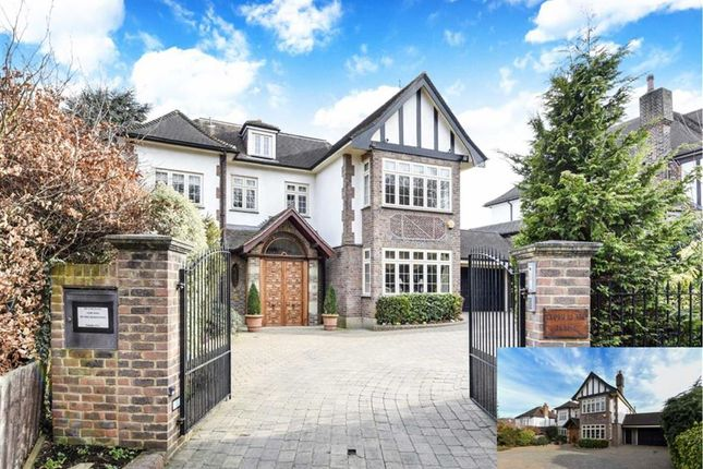 Thumbnail Detached house for sale in Bush Hill, Winchmore Hill, London