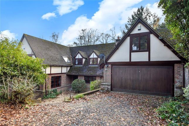 Thumbnail Detached house for sale in Hocombe Drive, Chandler's Ford, Hampshire