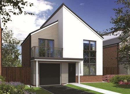 "Thumbnail Detached house for sale in ""The Amberley"" at Sir Bobby Robson Way, Newcastle Upon Tyne"