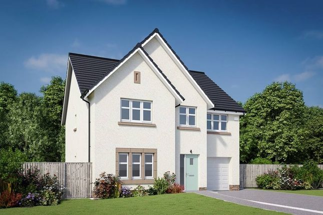 "Thumbnail Detached house for sale in ""The Crichton"" at Cassidy Wynd, Balerno"