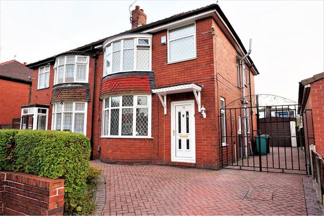 Thumbnail Semi-detached house for sale in Onslow Avenue, New Moston, Manchester