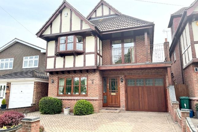 Thumbnail Detached house for sale in Fairview Gardens, Leigh-On-Sea, Essex