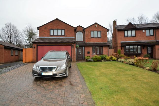 Thumbnail Detached house to rent in Cartier Close, Old Hall, Warrington
