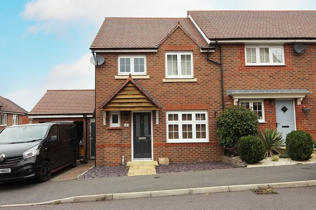 3 bed end terrace house to rent in Henley Grove, Church Gresley, Swadlincote DE11