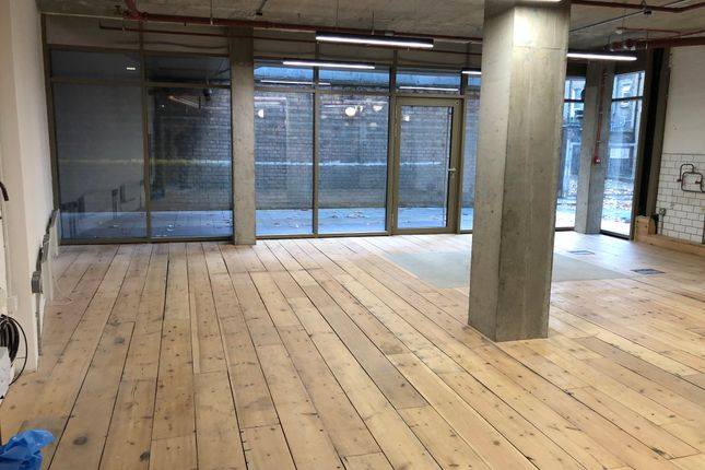 Retail premises to let in 143 Mare Street, London