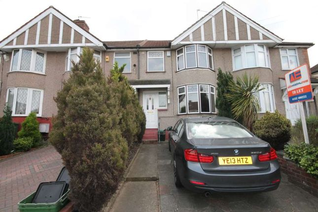 Thumbnail Terraced house to rent in Parkside Avenue, Bexleyheath
